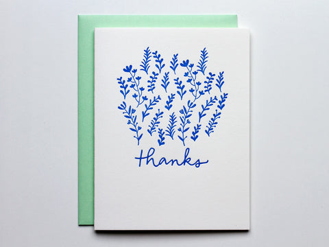 A Garden of Thanks - Card