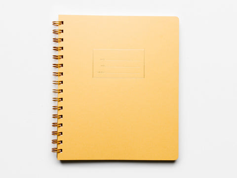 Mustard Notebook - lined