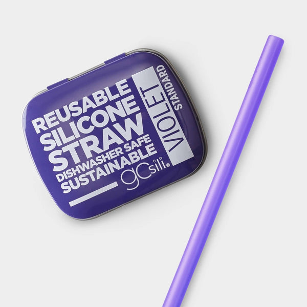 Standard Size Straw In Tin- Assorted Colors