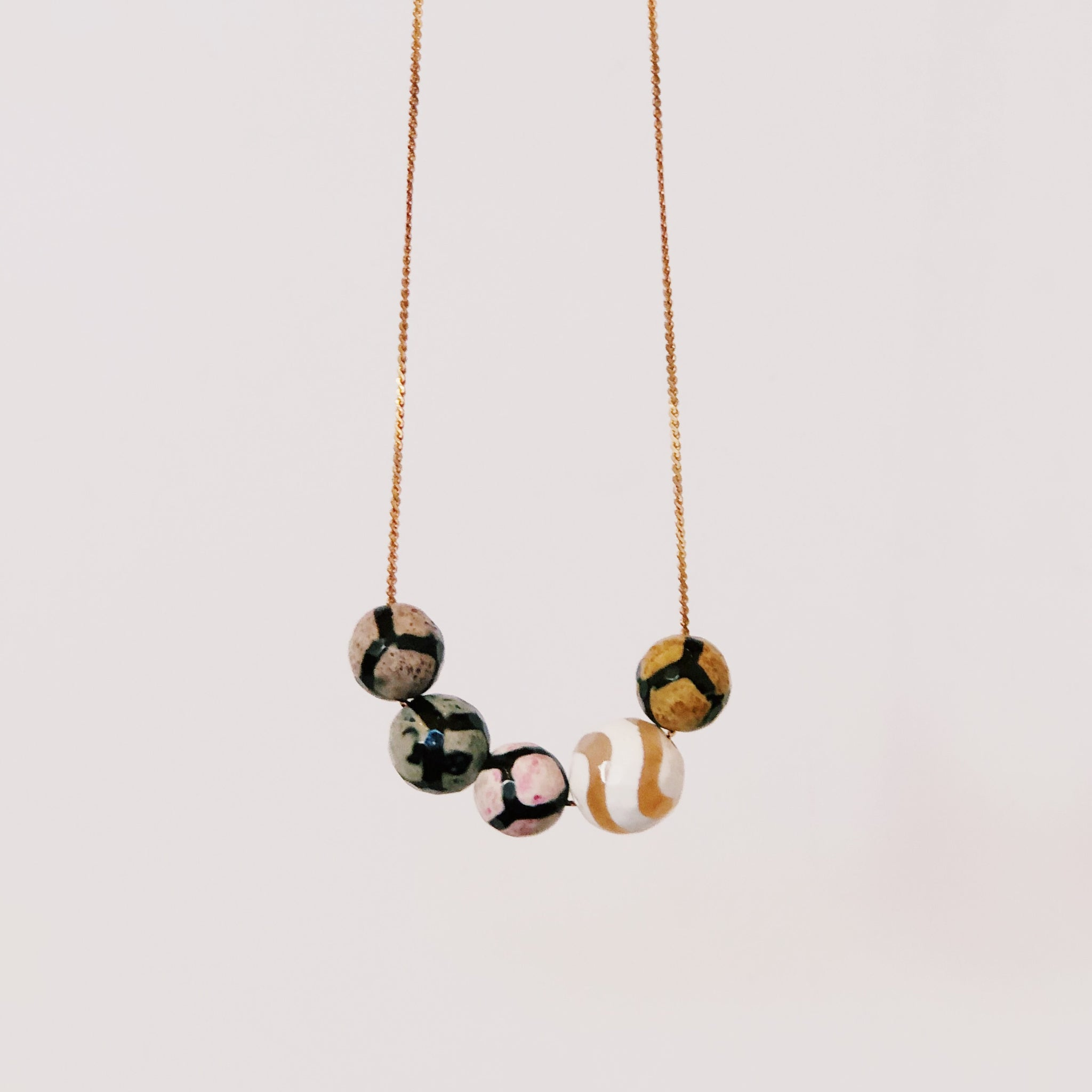 Full House - Multicolor - Necklace