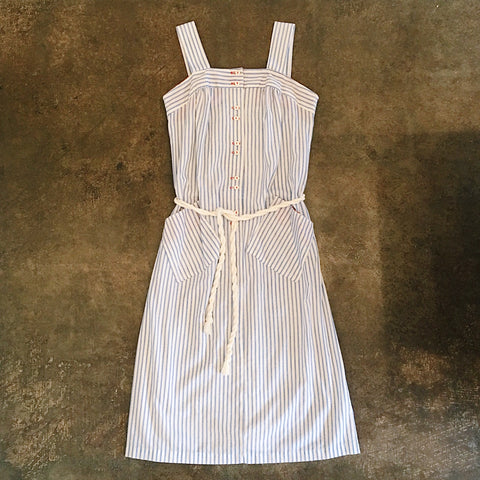 Vintage Coll. 03 - Nautical Striped Sun Dress