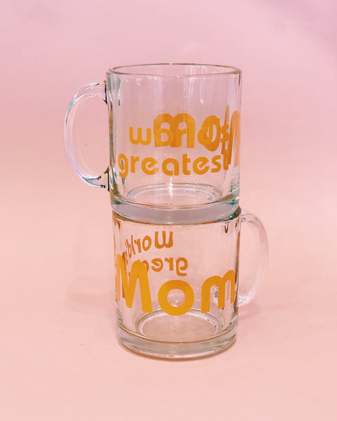 World's Greatest Mom - Tangerine - Mug