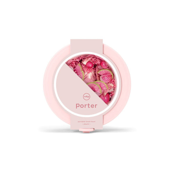 Porter Plastic Bowl: Blush