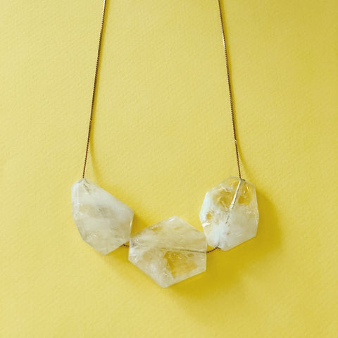 Citrine Quartz - Necklace