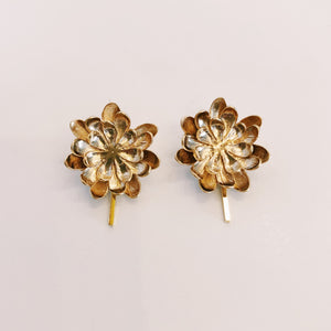 Floral Post - Earrings