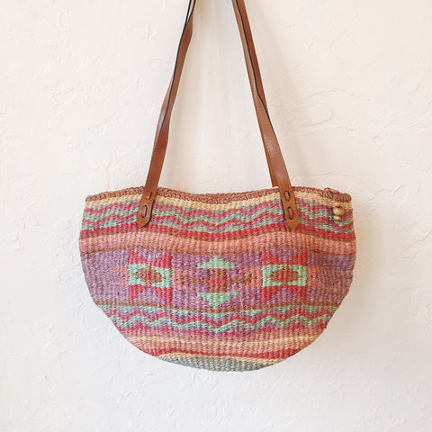 Vintage Coll. 03 - Colorful Straw-Woven Bag