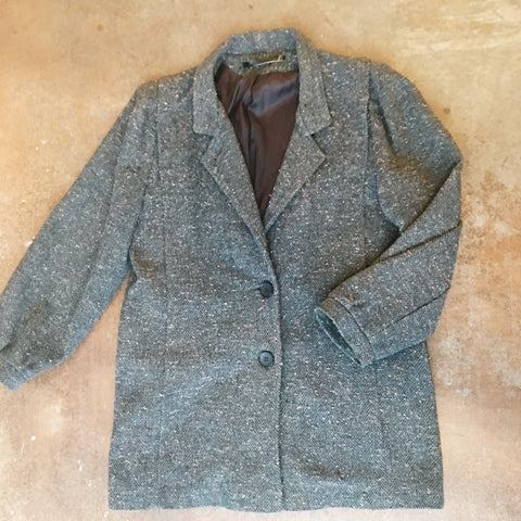 Vintage Coats - Gray Wool Coat