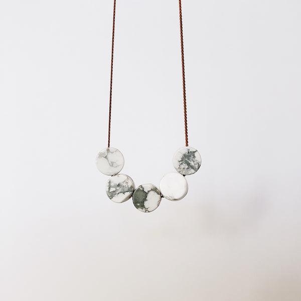Marble Stone - Necklace