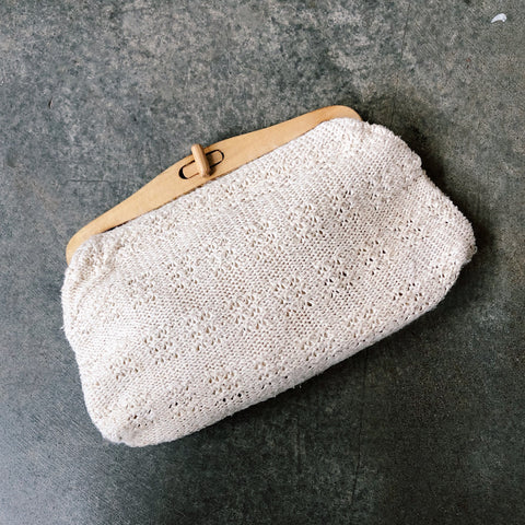 Vintage Coll. 03 - Knit Clutch