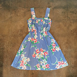 Vintage Coll. 03 - Hawaiian Print Sun Dress
