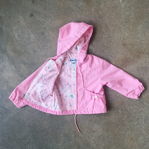 "Lil Threads 03 - Pink ""Weather Tamer"" Jacket"