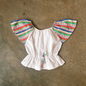 Lil Threads 03 - 70s butterfly sleeve top