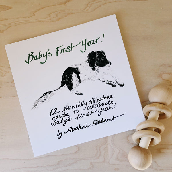 Baby's 1st Year Cards by Roshni Robert
