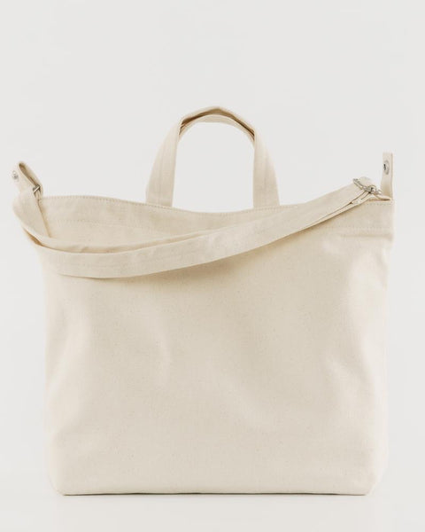 Horizontal Duck Bag - Natural Canvas