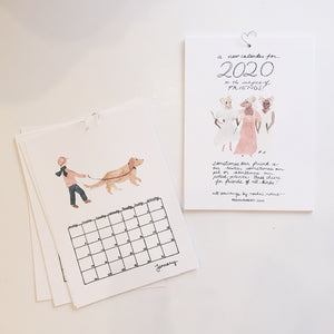 2020 Calendar by Roshni Robert
