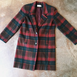 Vintage Coats - Flannel Coat