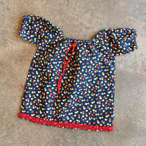 Lil Threads 03 - 70s ditsy floral top