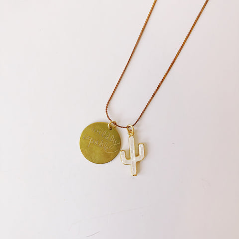 Wildly Capable - sunset - necklace