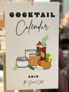 Cocktail Calendar - 2019