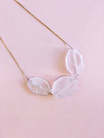 Rose Quartz - Necklace