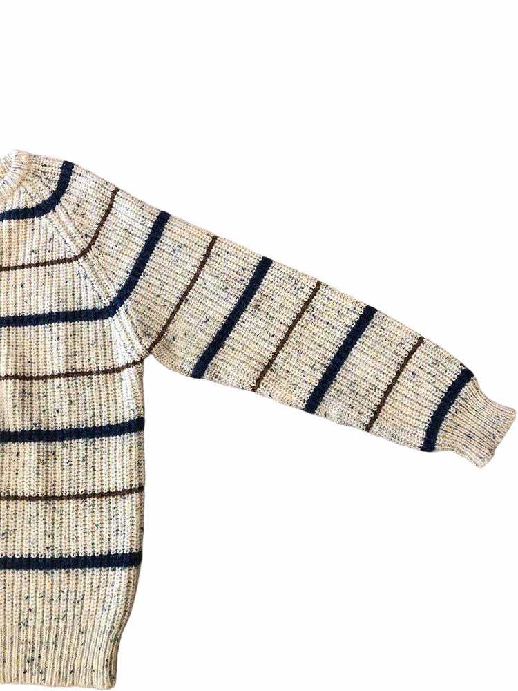 Crewneck Striped Sweater- VC 08