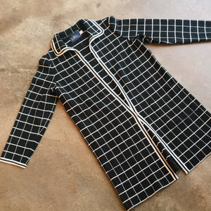 Vintage Coats - Grid Jacket