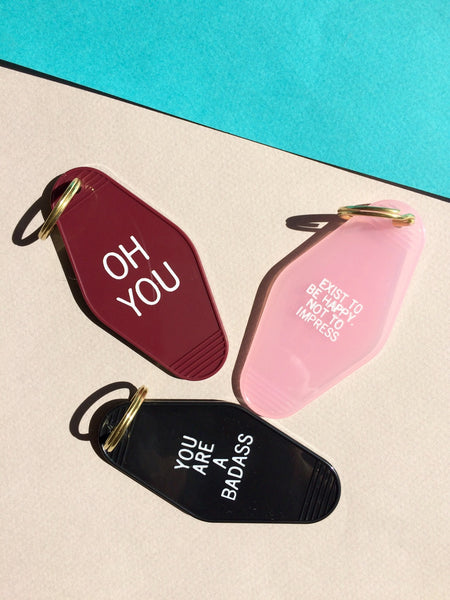 Oh You - Keychain