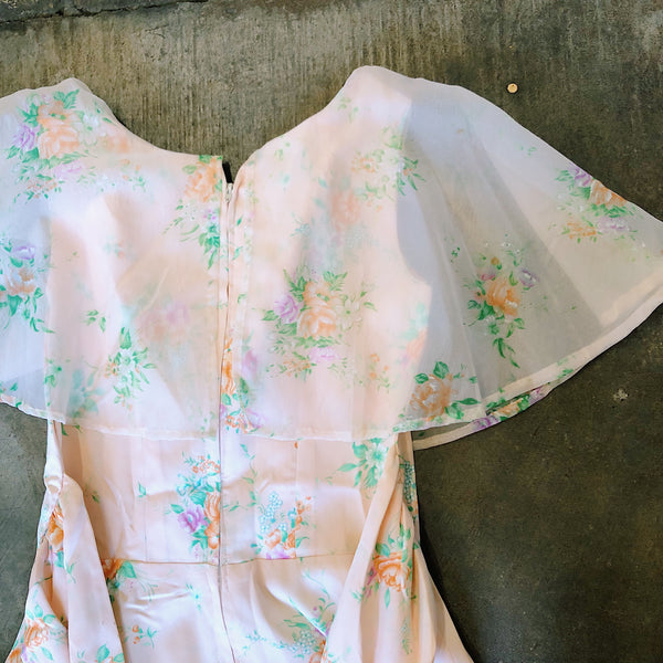 "Vintage Coll. 02 - ""Peachy Keen"" Spring Dress"