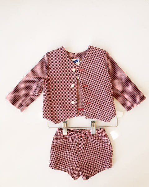 Lil Threads 01 - Blazer + Short - 2 piece set