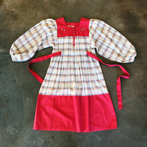 Vintage Coll. 02 - Plaid Spring Dress