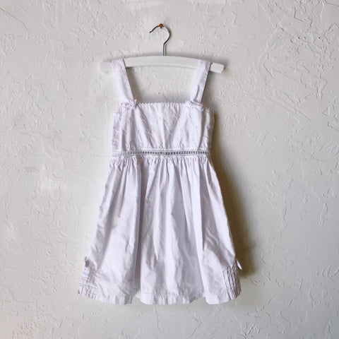 Lil Threads 01 - White Cotton Dress