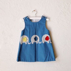 Lil Threads 01 - Elephant Patchwork Dress