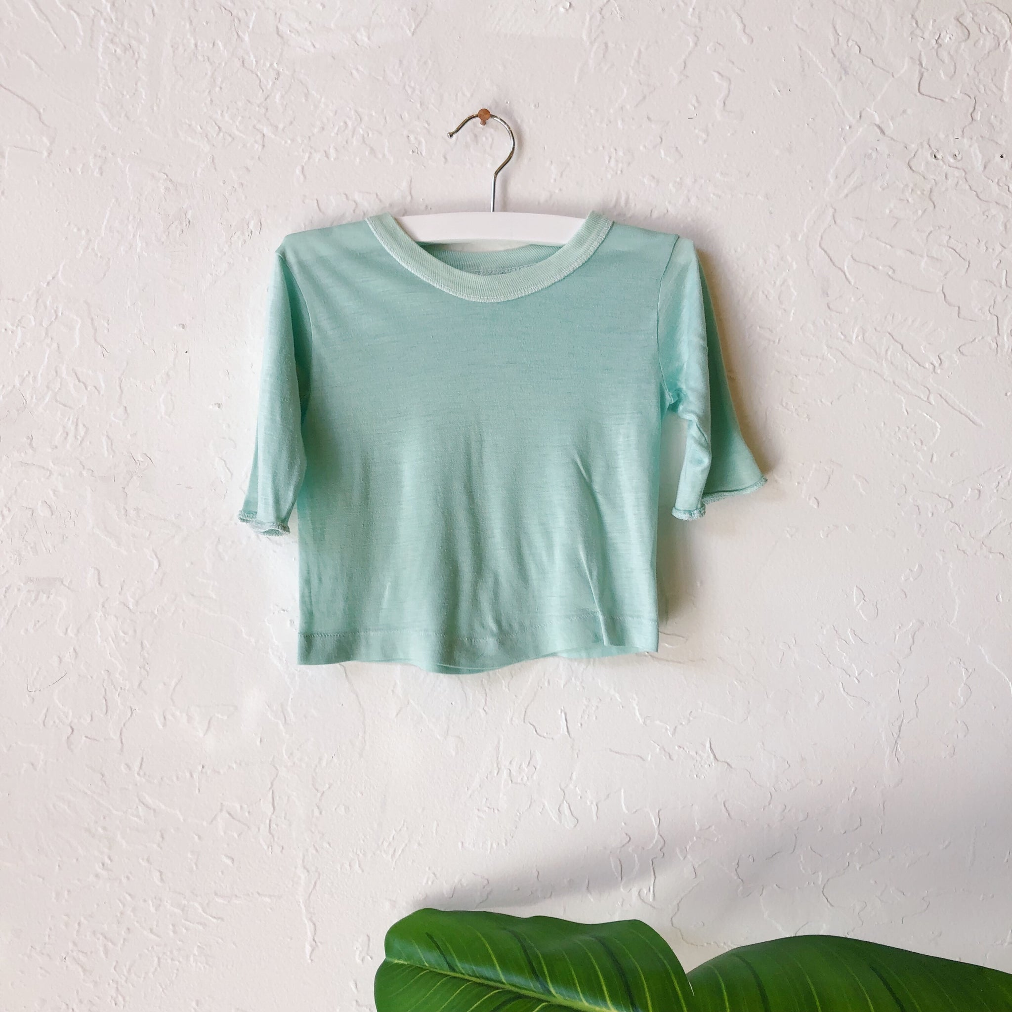 Lil Threads 01 - Mint Long Sleeve Shirt