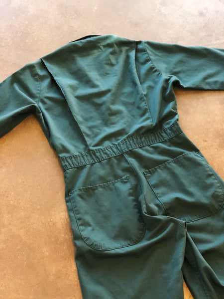 Vintage Coll. 02 - Forest Green Coveralls