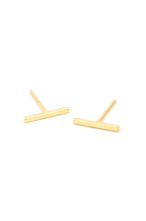 Bar Stud - Earring