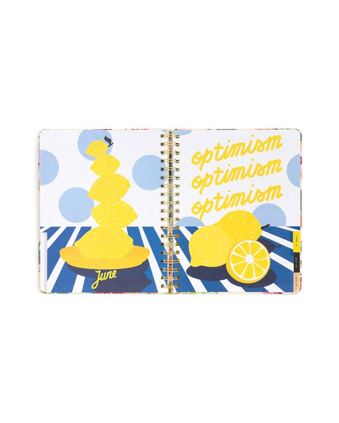 Large 13-month Planner - Pearlescent