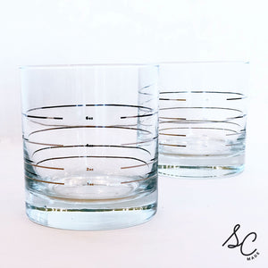 Ounces Glasses - set of 2