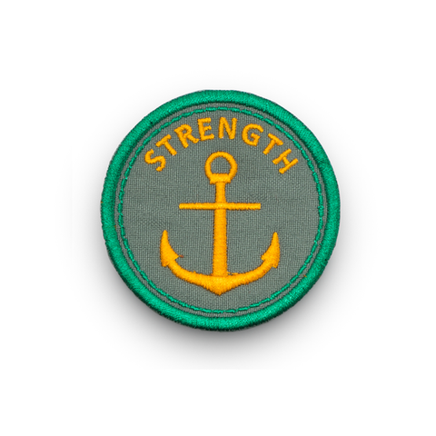 Strength - Iron On Patch