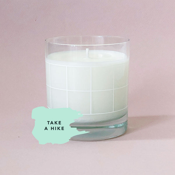 Take a Hike - Candle