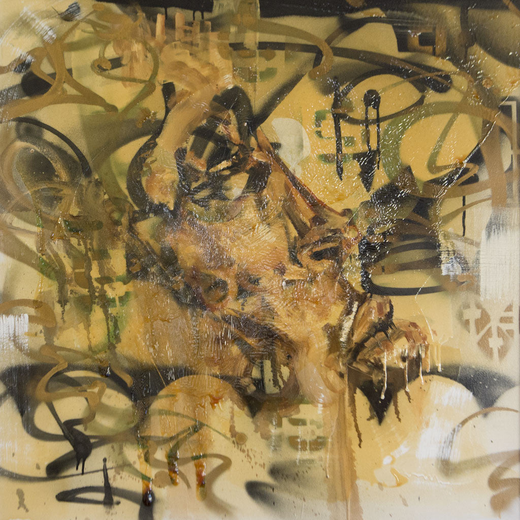 David Choe, Untitled 2003 (Original Mixed Media on Canvas)