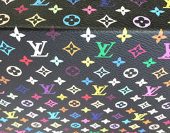 Takashi Murakami x Marc Jacobs for Louis Vuitton : Monogram Mini Multicolore - Black (2007)