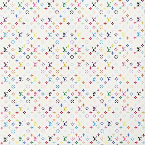 Takashi Murakami x Marc Jacobs for Louis Vuitton : Monogram Mini Multicolore - White (2007)