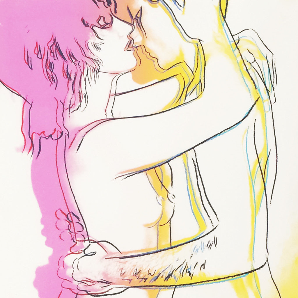 Andy Warhol : Love Nº 312 (1983)