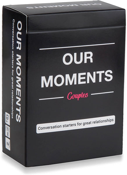 Card game. Image courtesy of Our Moments via Amazon