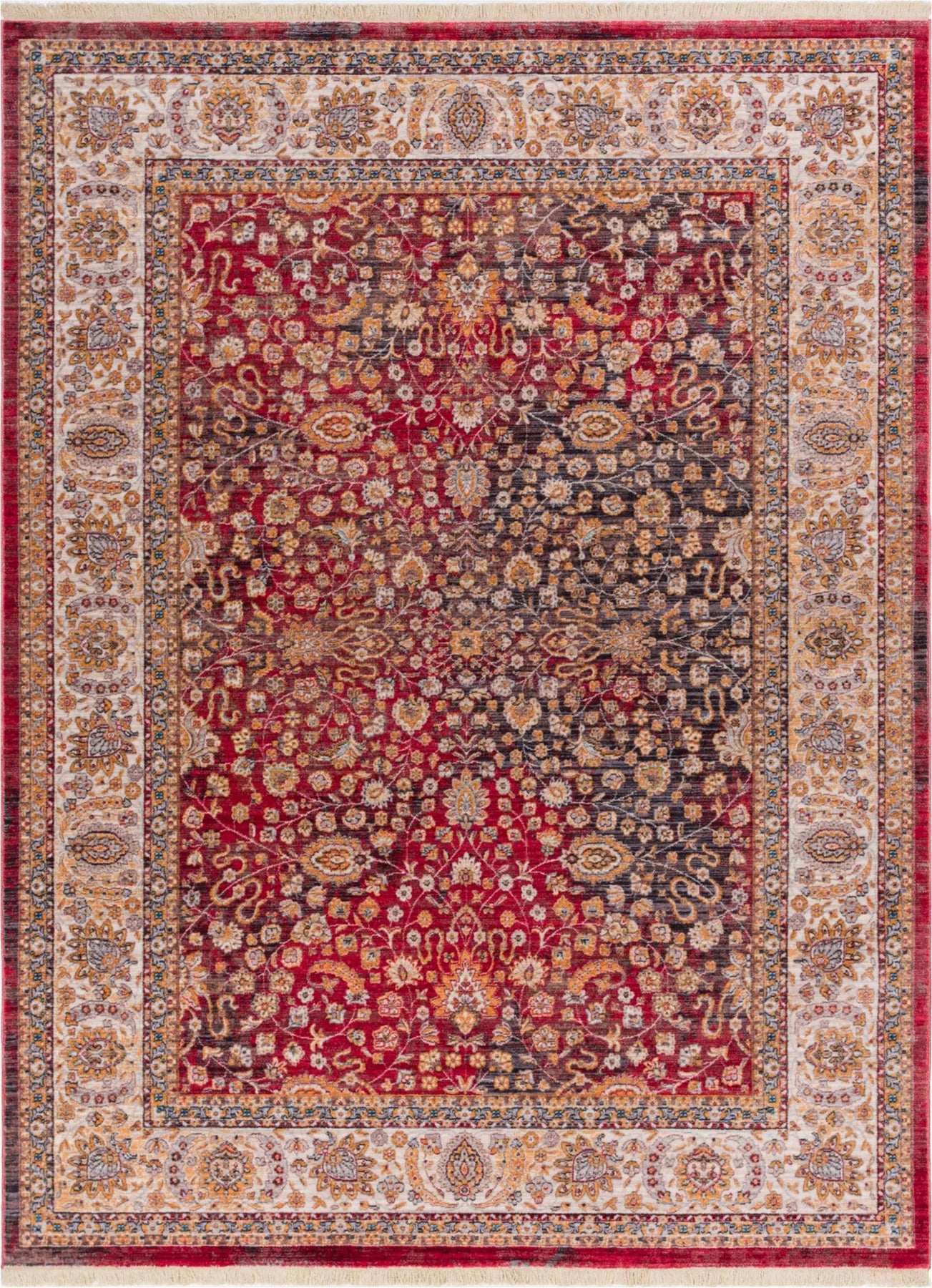 Well Woven's Emile Red Vintage rug.