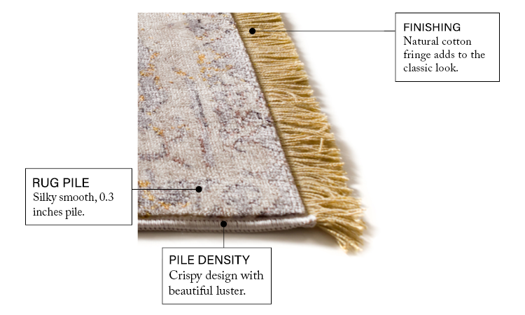 Global Treasures Earth Beige Area Rug