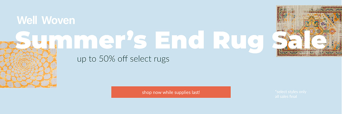 Well Woven Summer's End Rug Sale collection