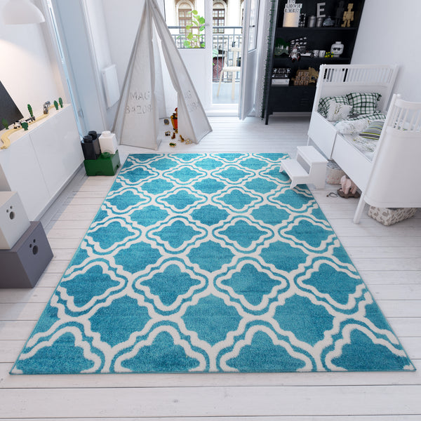 Starbright Calipso Blue 5' x 7' Area Rug