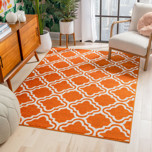Starbright Calipso Orange Rug