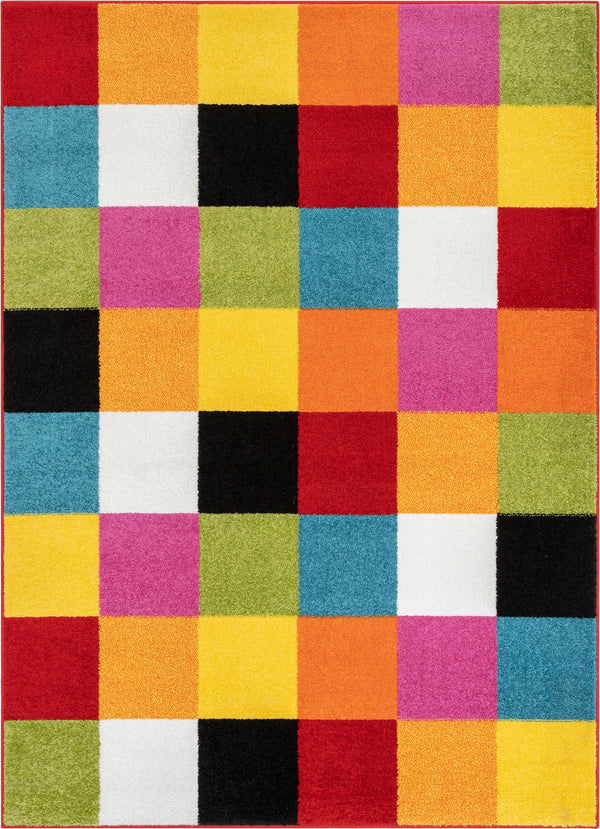 Starbright Bright Square Multi Rug